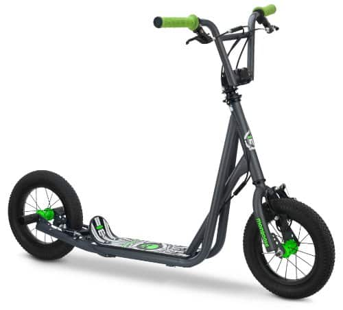 Mongoose Expo Kids Scooter .12 inch Air inflated Wheels.