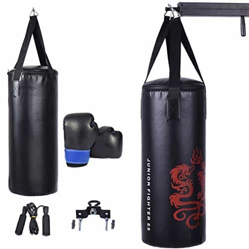 GYMAX Punching Bag Set