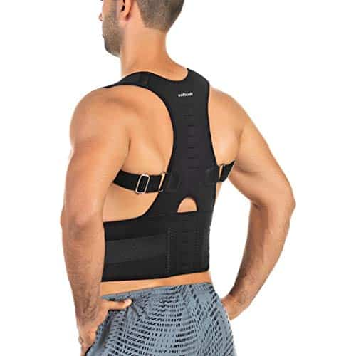 Posture correction back brace for men and women