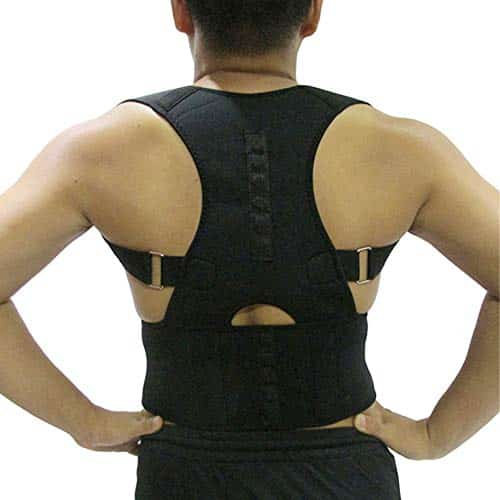 Posture corrector magnetic therapy back brace