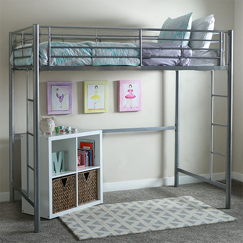 Walker Edison Modern Metal Pipe Bunk
