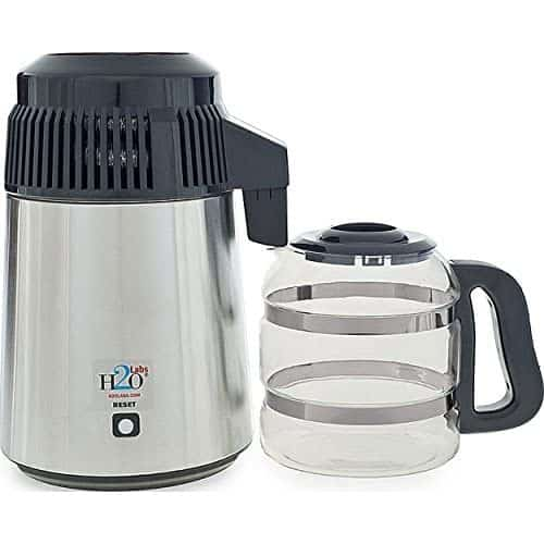 H2O Labs Stainless Steel Water Distiller