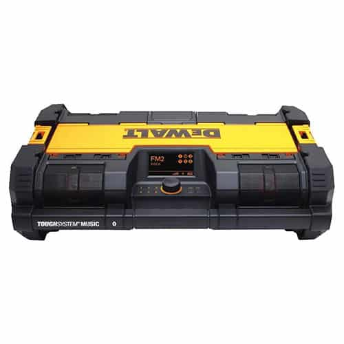 DEWALT Tough System Radio and Battery Charger