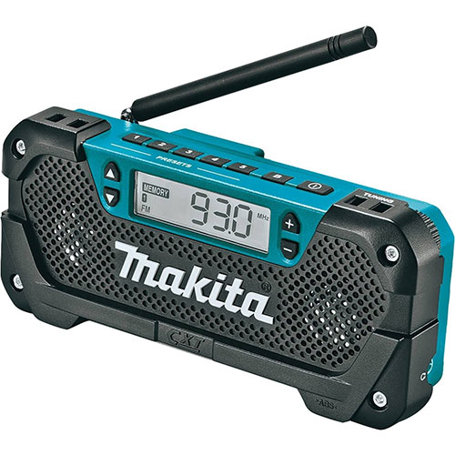 Makita RM02 12V Max CXT Lithium-Ion Cordless Compact Job Site Radio