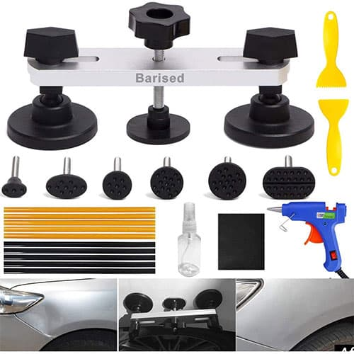 Barised 22PCS Auto Body Paintless Dent Removal Tools Kit