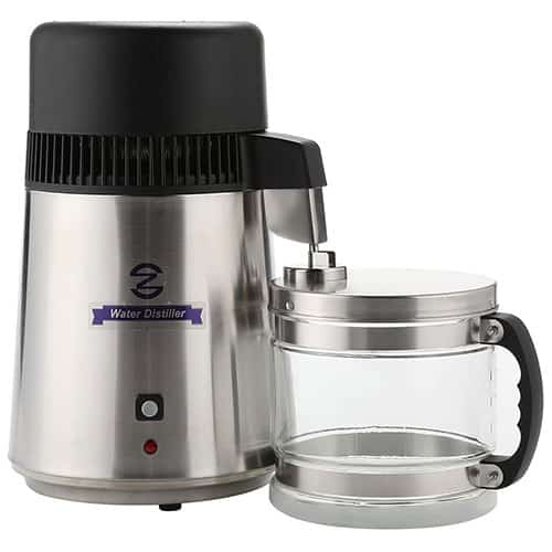 CO-Z 110V Brushed Stainless Steel Water Distiller
