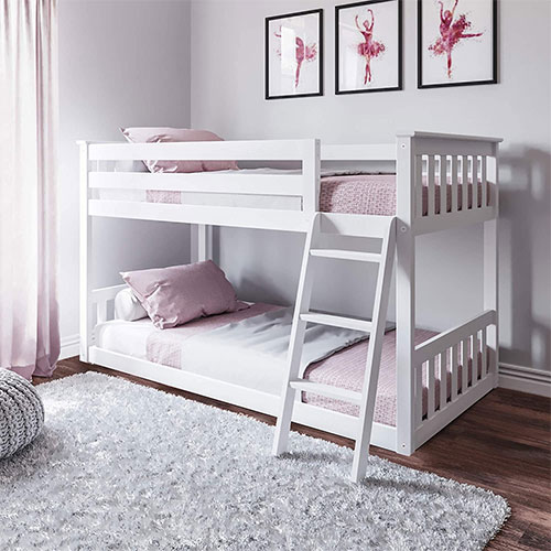 Max & Lily Twin Bunk Bed