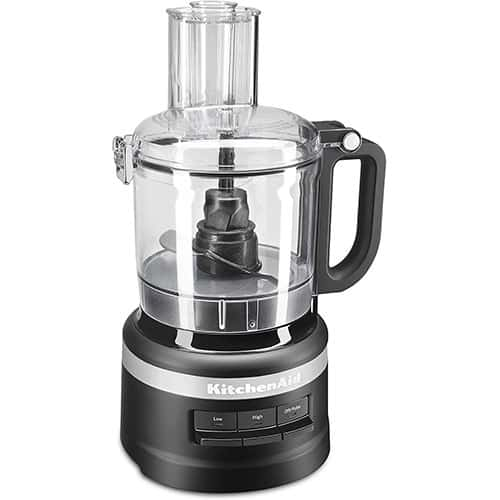 KitchenAid KFP0718BM Food Processor, 7 cup