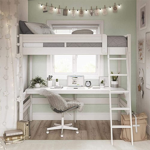 Dorel Living Harlan Loft Bed