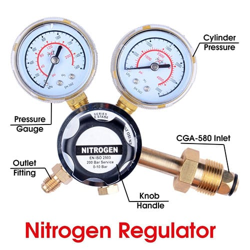 MANATEE Nitrogen Gas Regulator
