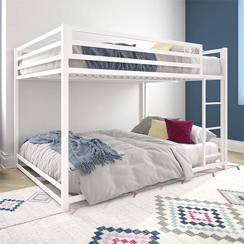 DHP Miles Metal Full Bunk Bed