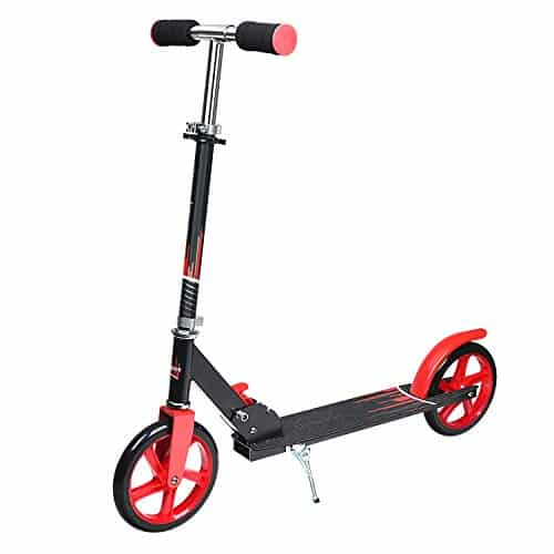UHINOOS Adults Kick Scooter 200MM with Kickstand-Big Wheels Kids Scooter