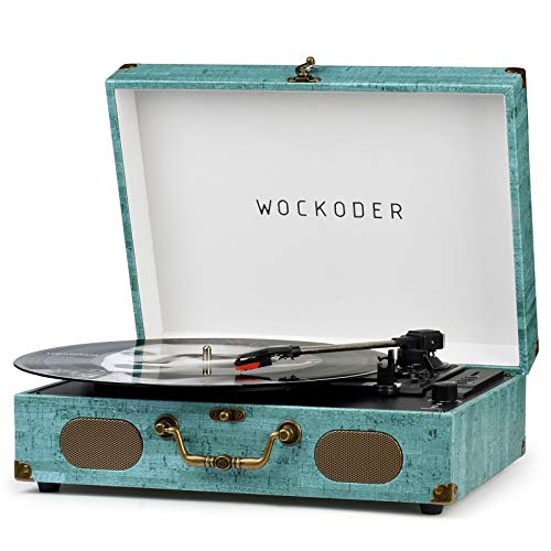 Record Player Wireless LP Portable Phonograph with Built-in Dynamic Speakers