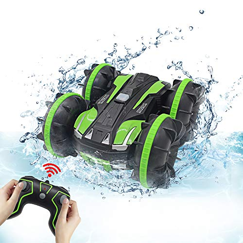 Seckton Car Toys for 10 Year Old Boys Amphibious Remote Control Car for Kids